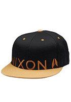 NIXON Lock Up 210 Cap black/vintage orange