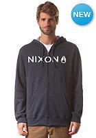 NIXON Lockup Hooded Zip Sweat midnight navy heather
