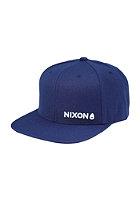 NIXON Lockup Snapback Cap navy / white