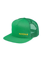 NIXON Lockup Trucker Cap kelly green