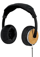 NIXON Master Blaster Headphones all black/light wood