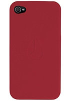 NIXON Matte Jacket Iphone Cases dark red