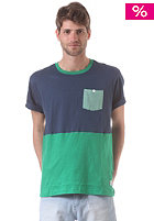 NIXON Maxwell Pocket S/S T-Shirt faded navy