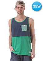 NIXON Maxwell Pocket Tank S/S T-Shirt faded navy