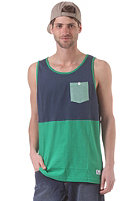 NIXON Maxwell Pocket Tank Top faded navy