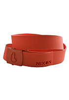 NIXON Meddler Belt red pepper