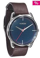 NIXON Mellor navy/brown