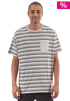 NIXON Moniker S/S T-Shirt heather gray
