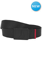 NIXON Mono Enamel Wings Belt black / dark red