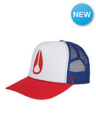 NIXON Pacific Trucker Cap blue/white/red