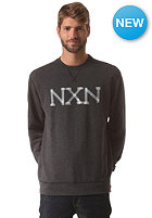 NIXON Paddington Crew Sweat black heather
