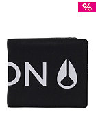 NIXON Patchwork Bi-Fold Wallet black