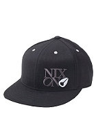 NIXON Philly Flexfit Cap black/white