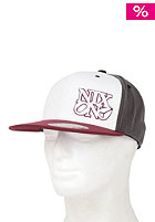 NIXON Philly Flexfit Cap bordeaux