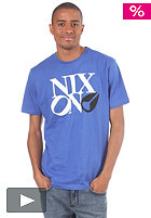 NIXON Philly Too S/S T-Shirt royal