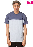 NIXON Pock Double Deck S/S T-Shirt navy heather