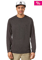 NIXON Preacher Crew Sweatshirt black heather