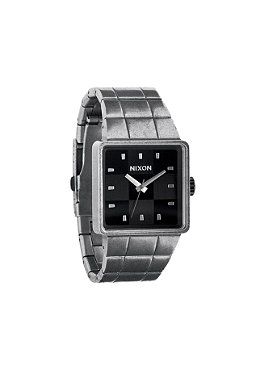 NIXON Quatro antique silver/black