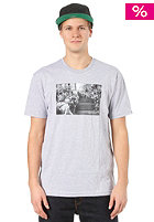 NIXON Reynolds S/S T-Shirt heather gray