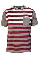 NIXON Ripley Knit S/S T-Shirt charcoal