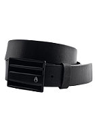 NIXON Rotolog Leather Belt all black
