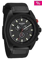 NIXON Rover Chrono all Black / red