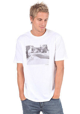 NIXON Salton S/S T-Shirt white/black