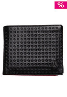 NIXON Satellite Big Bill Bi-Fold ID Coin Wallet black dot
