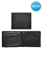 NIXON Satellite Big Bill Bi-Fold ID Coin Wallet black nylon