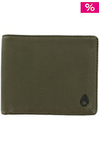 NIXON Satellite Big Bill Bi-Fold ID Coin Wallet surplus/black