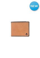 NIXON Satellite Big Bill Bi-Fold ID Coin Wallet tan