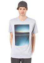 NIXON Seaview S/S T-Shirt heather gray
