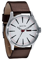 NIXON Sentry Leather white