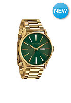 NIXON Sentry SS gold / green sunray