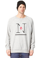 NIXON Series Crew II Sweat heather gray