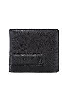 NIXON Showdown Bi-Fold Zip Wallet black/lime