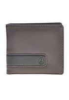 NIXON Showdown Bi-Fold Zip Wallet brown