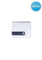 NIXON Showdown Bi-Fold Zip Wallet white / charcoal