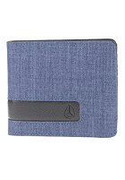 NIXON Showoff Bi-Fold Wallet blue wash