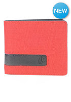 NIXON Showoff Bi-Fold Wallet red wash