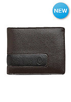 NIXON Showout Bi-Fold Snap Coin Brown
