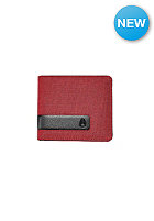 NIXON Showtime Bi-Fold ID red wash