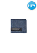 NIXON Showtime Bi-Fold ID Zip Wallet blue wash
