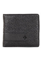 NIXON Showtime Bi-Fold Zip Coin Wallet philly black