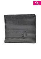 NIXON Showtime Bi-Fold Zip Wallet black fine stripe