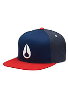 NIXON Simon Snap Back Cap navy/red