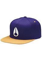 NIXON Simon Snap Back Cap royal/purple/gold