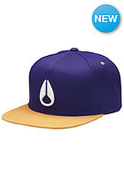 NIXON Simon Snap Back Cap royal/purple/gold