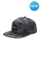 NIXON Snapper Print Snap Back Cap black