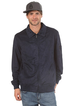 NIXON Sorted Suede Jacket navy